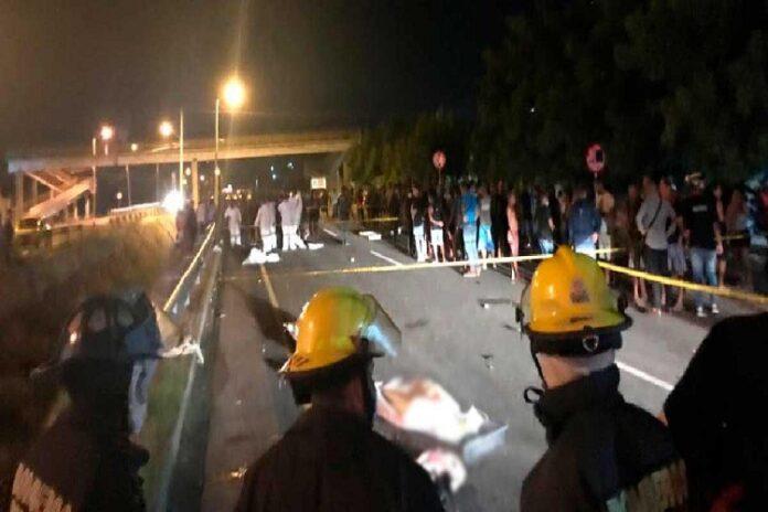 Seis muertos por arrollamiento en Colombia