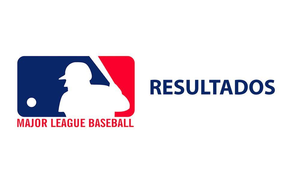 Resultados en las Grandes Ligas de Béisbol (MLB)